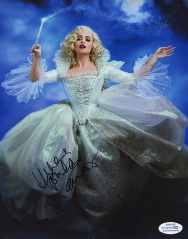 Helena Bonham Carter Cinderella Signed Autograph 8x10 Photo ACOA - Outlaw Hobbies Authentic Autographs
