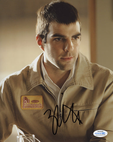 Zachary Quinto Heroes Signed Autograph 8x10 Photo ACOA #13 - Outlaw Hobbies Authentic Autographs