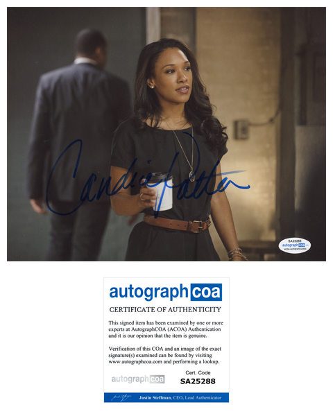Candice Patton The Flash Sexy Signed Autograph 8x10 Photo ACOA Arrow #2