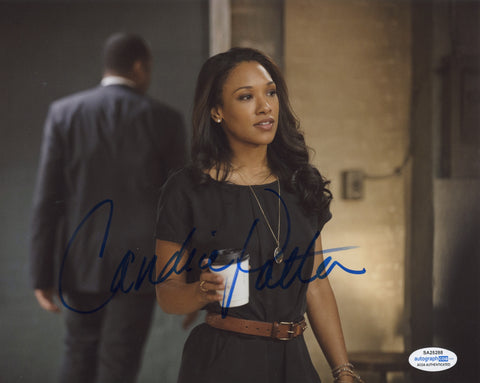 Candice Patton The Flash Sexy Signed Autograph 8x10 Photo ACOA Arrow #2 - Outlaw Hobbies Authentic Autographs