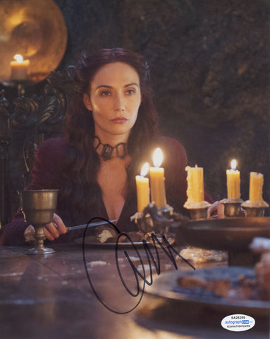 Carice Van Houten Game of Thrones Signed Autograph 8x10 Photo ACOA