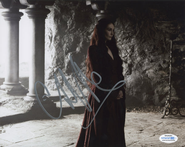 Carice Van Houten Game of Thrones Signed Autograph 8x10 Photo ACOA #3