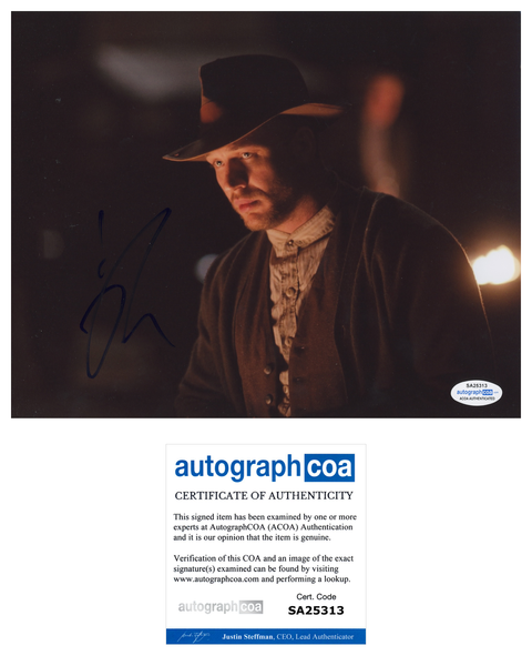 Tom Hardy Lawless Signed Autograph 8x10 Photo ACOA #2 - Outlaw Hobbies Authentic Autographs