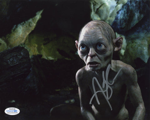 Andy Serkis Lord of the Rings Signed Autograph 8x10 Photo ACOA #2