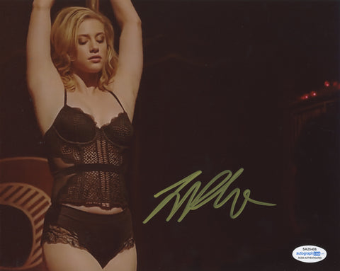Lili Reinhart Riverdale Sexy Signed Autograph 8x10 Photo ACOA #28