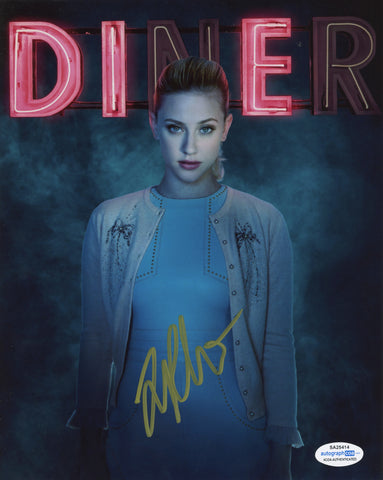 Lili Reinhart Riverdale Signed Autograph 8x10 Photo ACOA #25 - Outlaw Hobbies Authentic Autographs