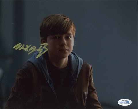Maxwell Jenkins Lost in Space Signed Autograph 8x10 Photo ACOA #14