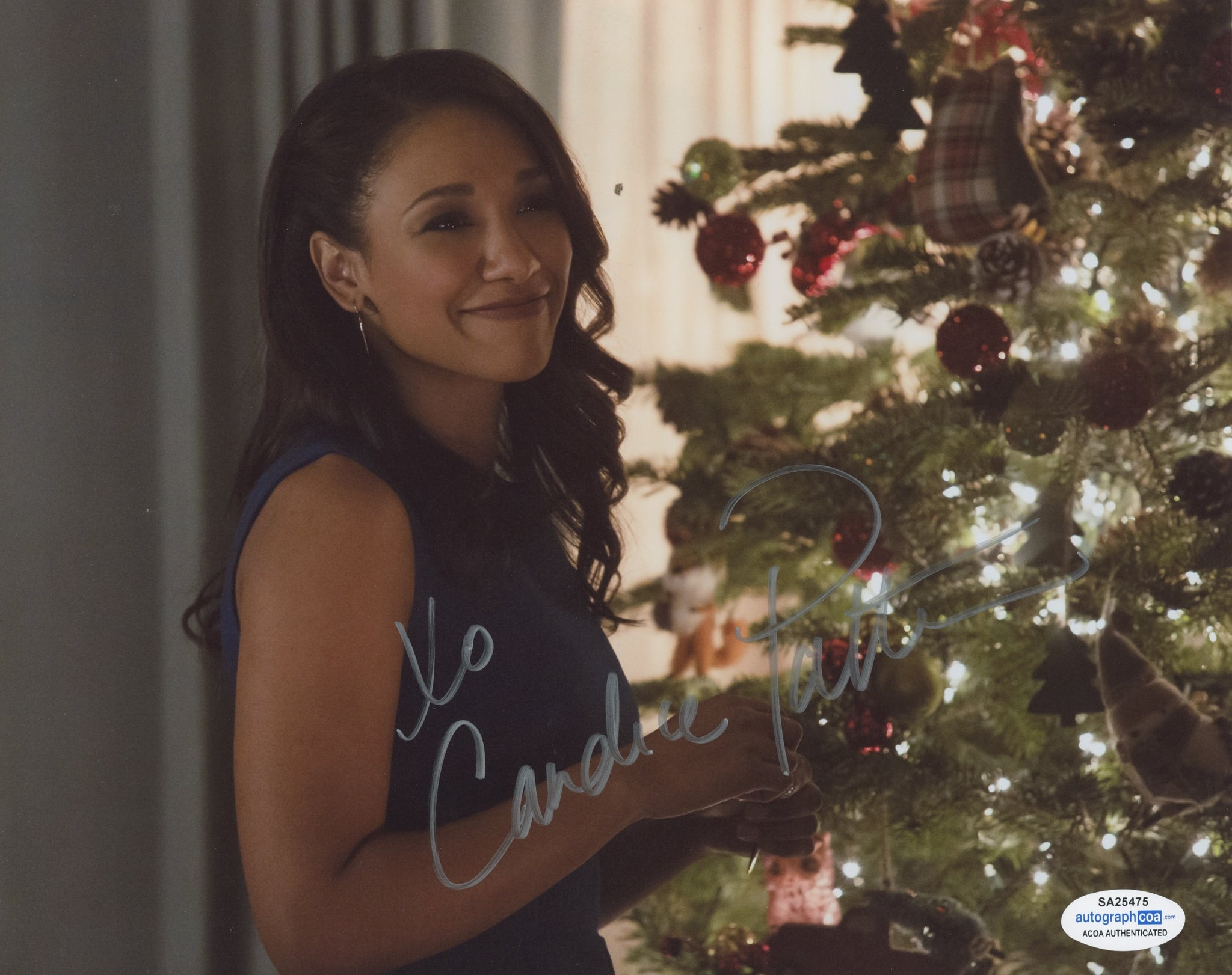 Candice Patton The Flash Sexy Signed Autograph 8x10 Photo ACOA Arrow #4 - Outlaw Hobbies Authentic Autographs