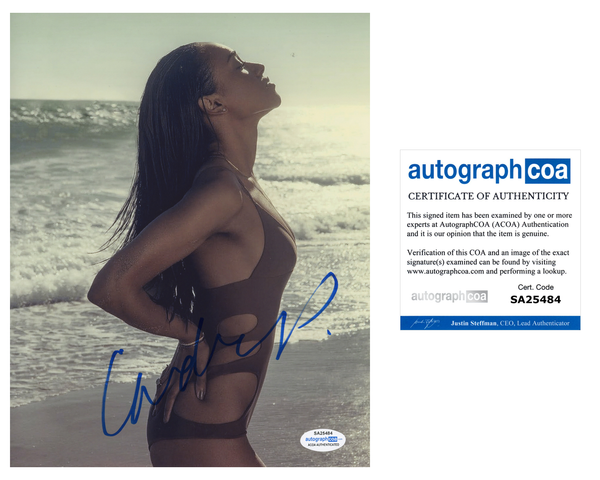 Candice Patton The Flash Sexy Signed Autograph 8x10 Photo ACOA Arrow #5 - Outlaw Hobbies Authentic Autographs