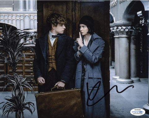 Katherine Waterston Fantastic Beasts Signed Autograph 8x10 Photo ACOA #2 - Outlaw Hobbies Authentic Autographs