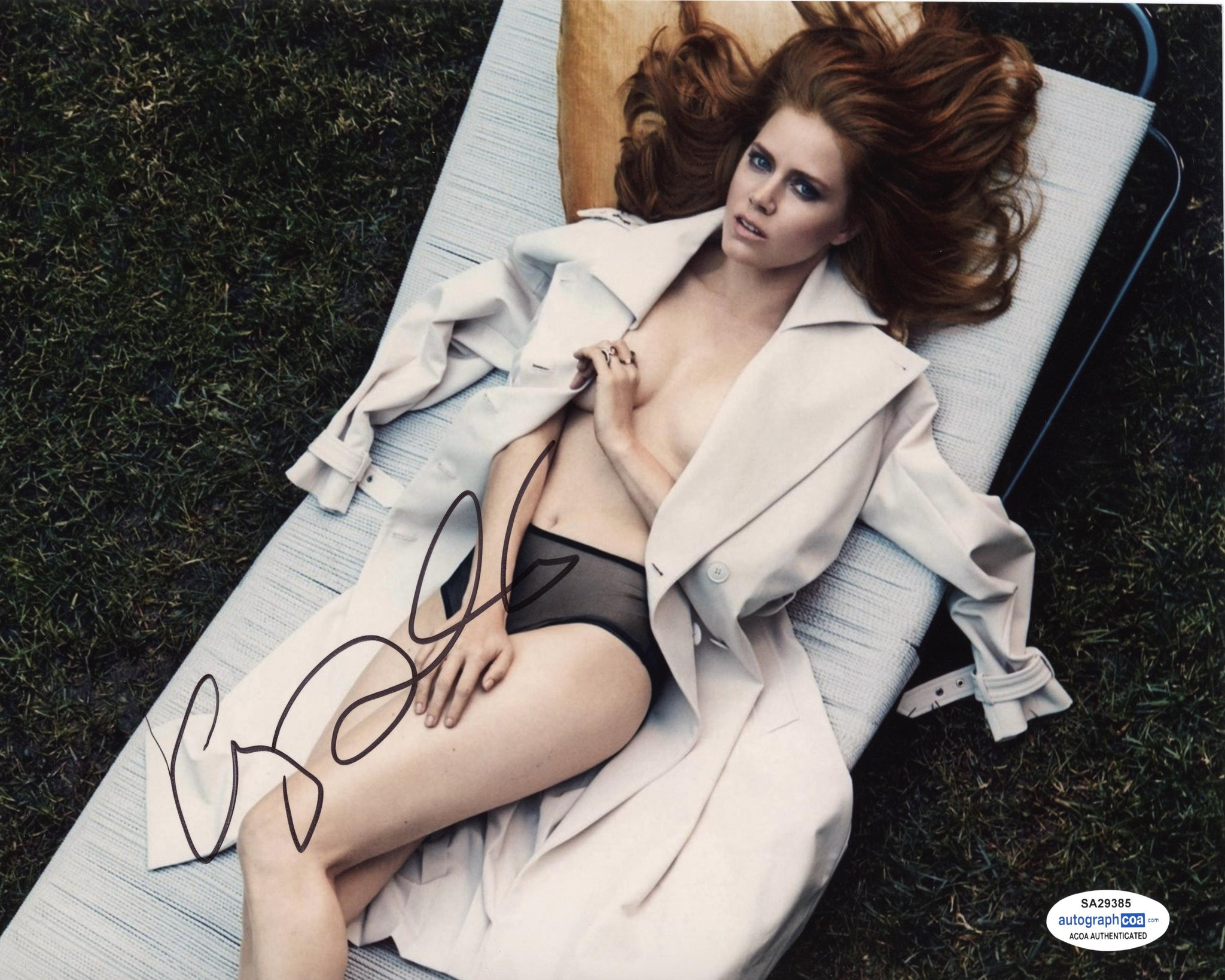 Amy Adams Sexy Signed Autograph 8x10 Photo ACOA #5 - Outlaw Hobbies Authentic Autographs