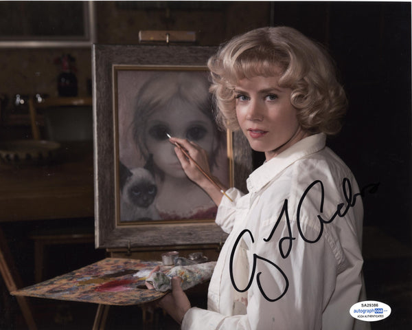 Amy Adams Big Eyes Signed Autograph 8x10 Photo ACOA #6 - Outlaw Hobbies Authentic Autographs