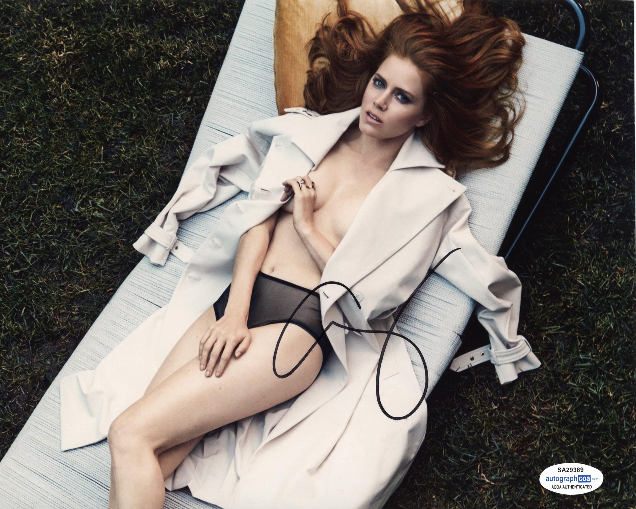 Amy Adams Sexy Signed Autograph 8x10 Photo ACOA #9 - Outlaw Hobbies Authentic Autographs