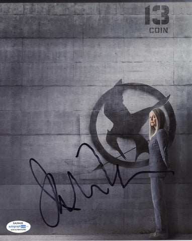 Julianne Moore Hunger Games Signed Autograph 8x10 Photo ACOA #21 - Outlaw Hobbies Authentic Autographs