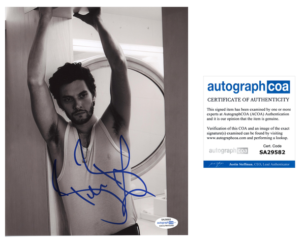 Ben Barnes Signed Autograph 8x10 Photo ACOA