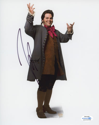 Josh Gad Beauty and the Beast Signed Autograph 8x10 Photo ACOA - Outlaw Hobbies Authentic Autographs