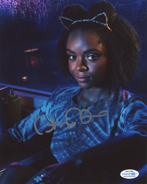 Ashleigh Murray Riverdale Signed Autograph 8x10 Photo ACOA - Outlaw Hobbies Authentic Autographs