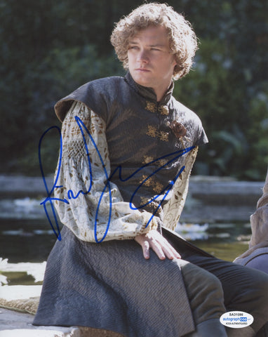 Finn Jones Game of Thrones Signed Autograph 8x10 Photo ACOA