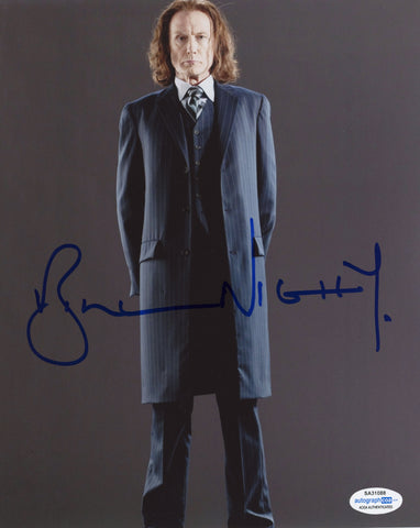 Bill Nighy Harry Potter Signed Autograph 8x10 Photo ACOA - Outlaw Hobbies Authentic Autographs