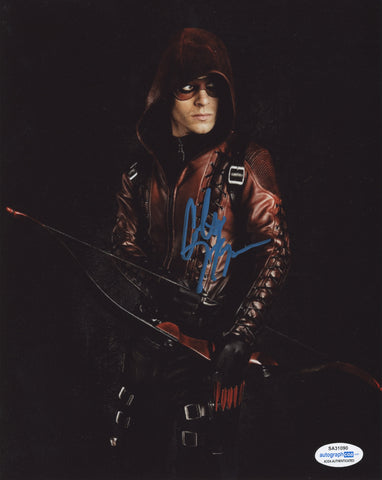 Colton Haynes Arrow Signed Autograph 8x10 Photo ACOA Arsenal - Outlaw Hobbies Authentic Autographs