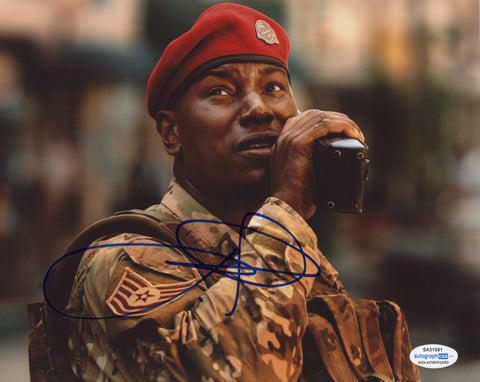 Tyrese Gibson Transformers Signed Autograph 8x10 Photo ACOA - Outlaw Hobbies Authentic Autographs