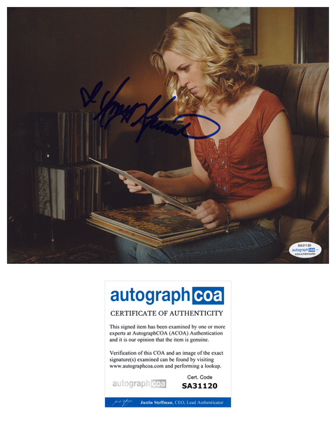 Amy Gumenick Supernatural Signed Autograph 8x10 Photo ACOA