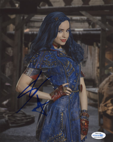 Sofia Carson Descendants Signed Autograph 8x10 Photo ACOA #4