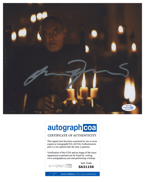 James Faulkner Game of Thrones Signed Autograph 8x10 Photo ACOA