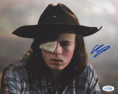 Chandler Riggs Walking Dead Signed Autograph 8x10 Photo ACOA #2