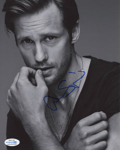 Alexander Alex Skarsgard The Stand Signed Autograph 8x10 Photo ACOA #5 - Outlaw Hobbies Authentic Autographs