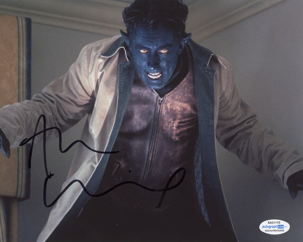 Alan Cumming X-Men Signed Autograph 8x10 photo ACOA - Outlaw Hobbies Authentic Autographs
