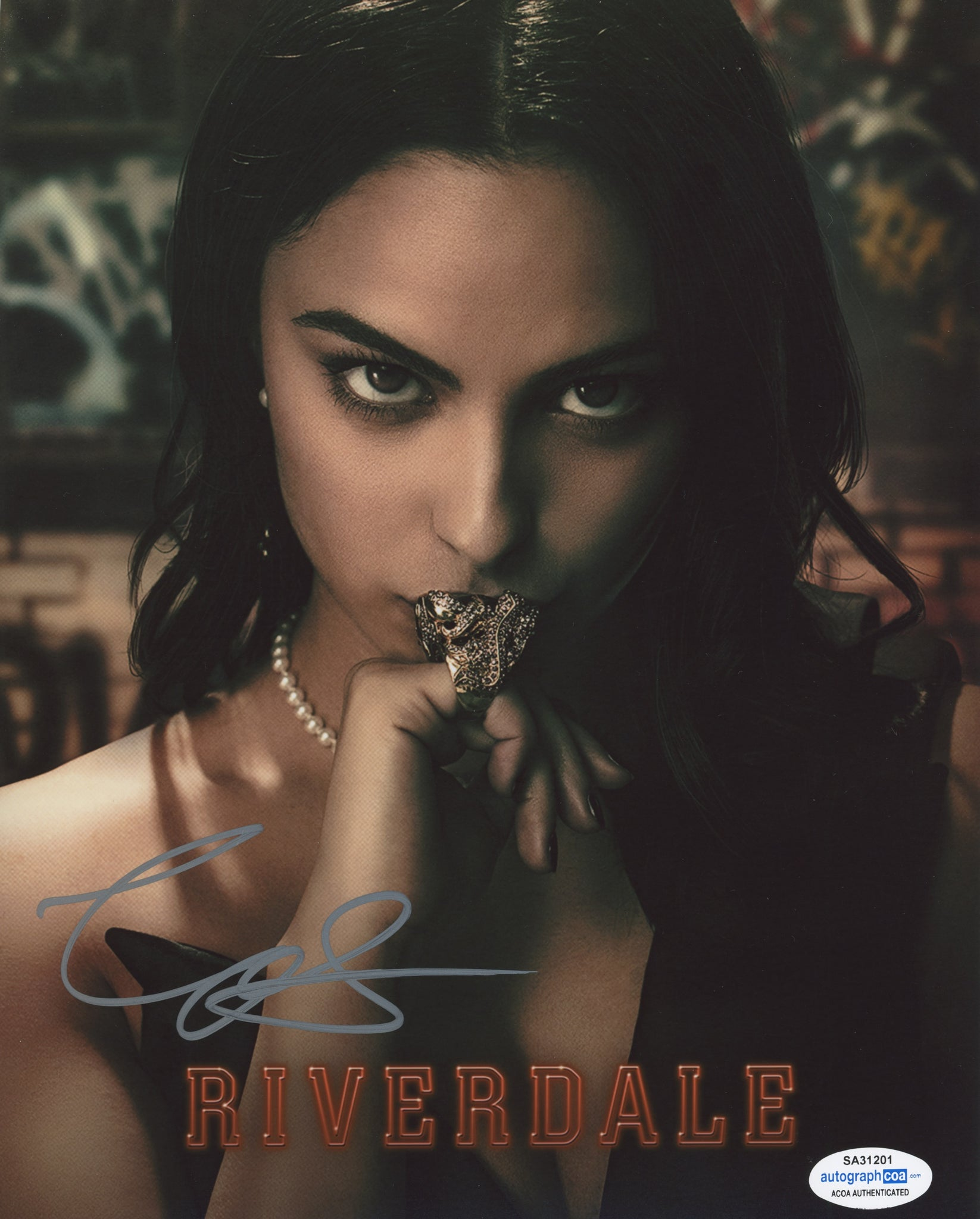 Camila Mendes Riverdale Signed Autograph 8x10 Photo ACOA #30 - Outlaw Hobbies Authentic Autographs