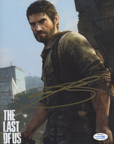 Troy Baker The Last of Us SIgned Autograph 8x10 Photo ACOA - Outlaw Hobbies Authentic Autographs