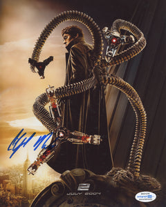 Alfred Molina Spiderman Signed Autograph 8x10 Photo ACOA #2