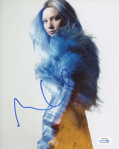 Mia Wasikowska Sexy Signed Autograph 8x10 Photo ACOA #16 - Outlaw Hobbies Authentic Autographs