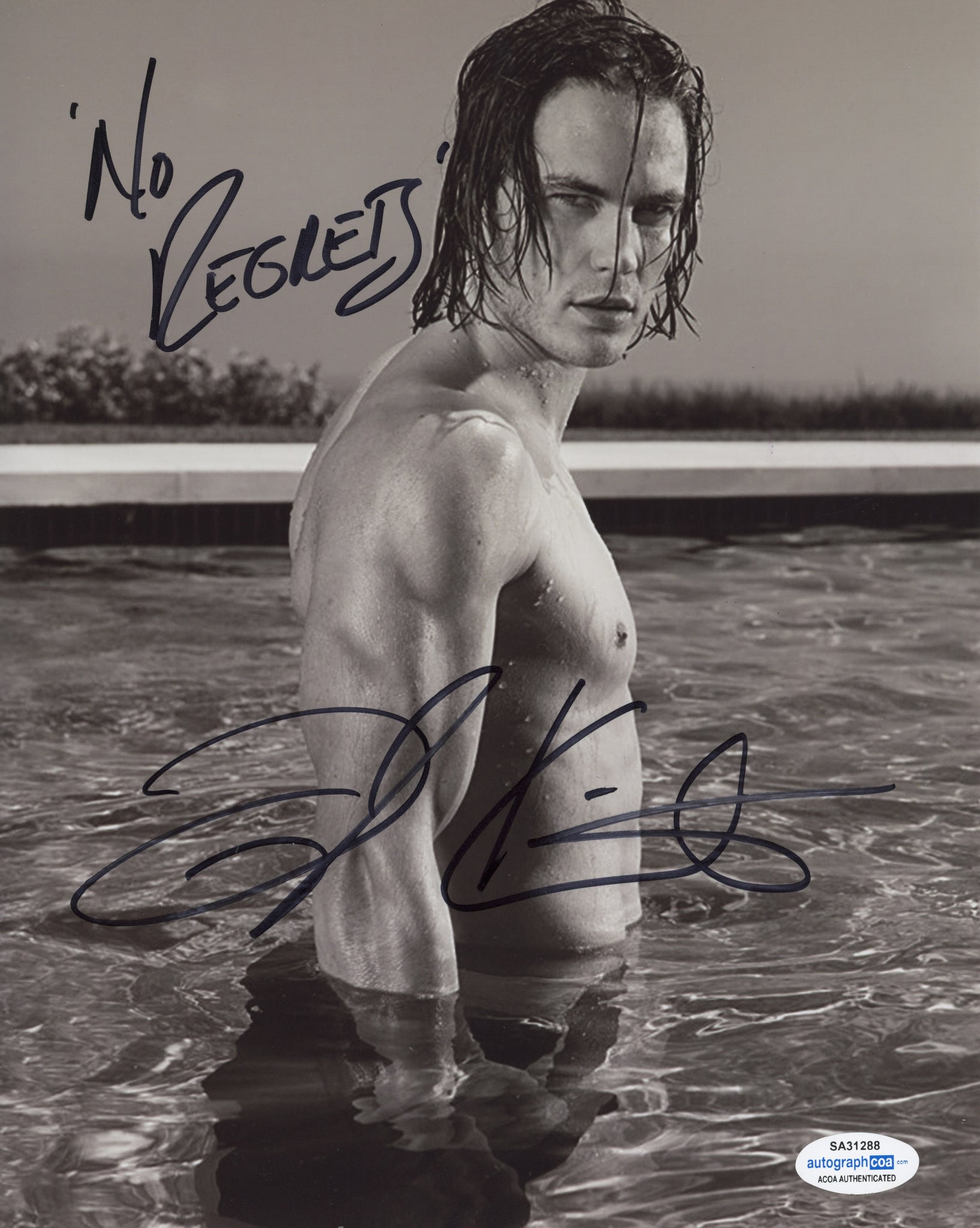 Taylor Kitsch Friday Night Lights Signed Autograph 8x10 Photo ACOA #6 - Outlaw Hobbies Authentic Autographs