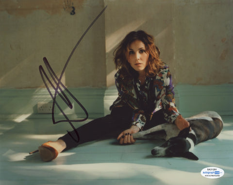 Noomi Rapace Sexy Signed Autograph 8x10 Photo ACOA #4