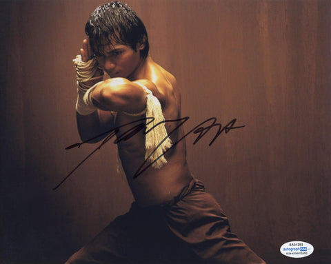 Tony Jaa Ong-Bak Signed Autograph 8x10 Photo ACOA Authentic #13 - Outlaw Hobbies Authentic Autographs