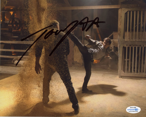Tony Jaa Skin Trade Signed Autograph 8x10 Photo ACOA Authentic #16 - Outlaw Hobbies Authentic Autographs