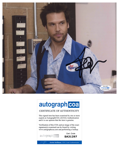 Dane Cook Employee of the Month Signed Autograph 8x10 Photo ACOA