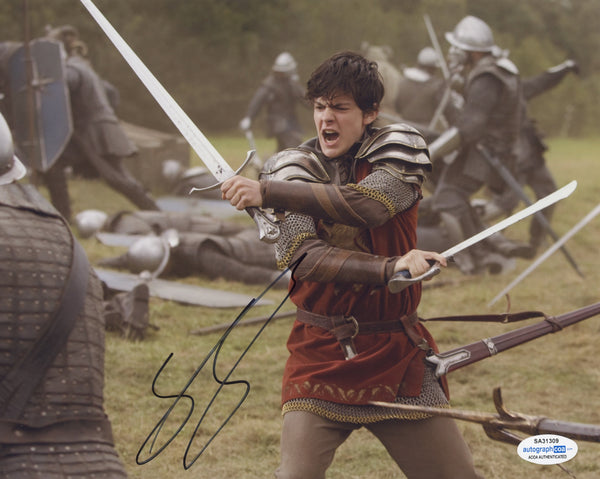 Skandar Keynes Chronicles of Narnia Signed Autograph 8x10 Photo ACOA