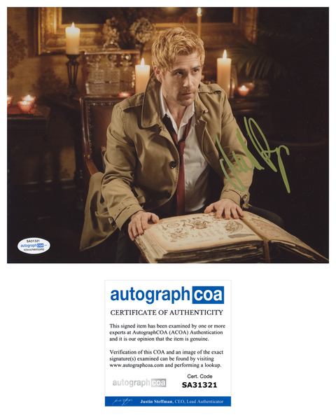 Matt Ryan Constantine Legends Signed Autograph 8x10 Photo ACOA #3