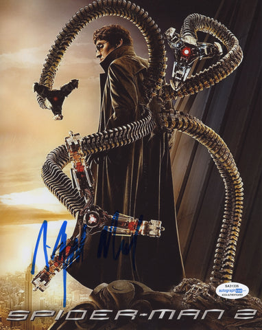 Alfred Molina Spiderman Signed Autograph 8x10 Photo ACOA #3
