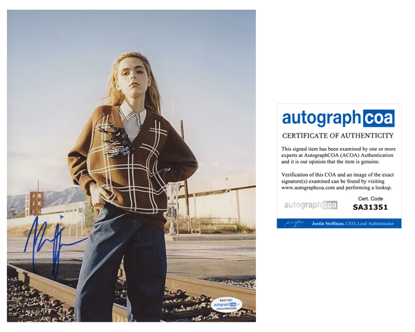 Kiernan Shipka CAOS Sabrina Signed Autograph 8x10 Photo #39 - Outlaw Hobbies Authentic Autographs