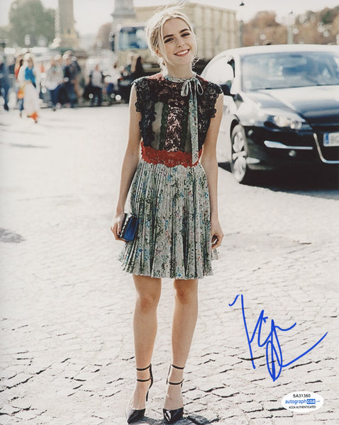 Kiernan Shipka CAOS Sabrina Signed Autograph 8x10 Photo #49 - Outlaw Hobbies Authentic Autographs