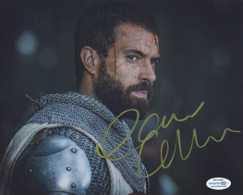Tom Cullen Knightfall Signed Autograph 8x10 Photo ACOA
