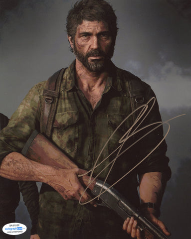 Troy Baker The Last of Us SIgned Autograph 8x10 Photo ACOA #6 - Outlaw Hobbies Authentic Autographs
