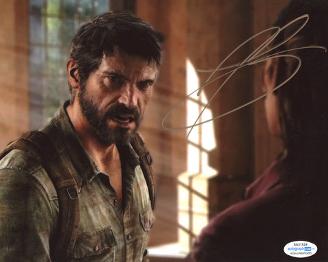 Troy Baker The Last of Us SIgned Autograph 8x10 Photo ACOA #8 - Outlaw Hobbies Authentic Autographs