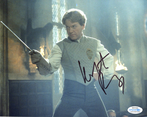 Kenneth Branagh Harry Potter Signed Autograph 8x10 Photo ACOA #3 - Outlaw Hobbies Authentic Autographs