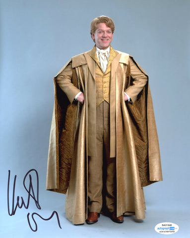Kenneth Branagh Harry Potter Signed Autograph 8x10 Photo ACOA #7 - Outlaw Hobbies Authentic Autographs